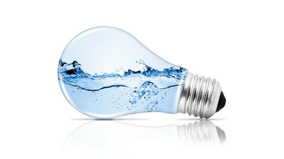 minimalist light bulb